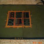 בזמן התהליך ניקוי שטיח